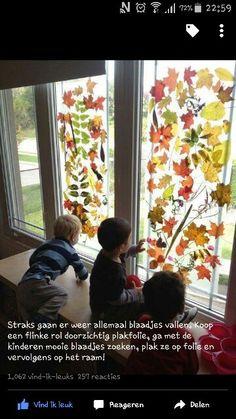 Raamdecoratie herfst