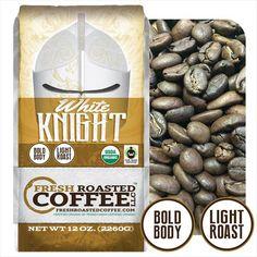 FTO White Knight Light Roast Coffee