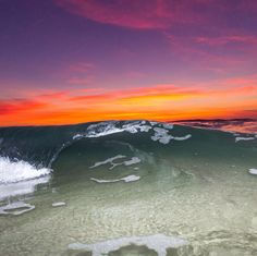 Prints and Metal Prints of La Jolla Sunset Wave now available on Etsy!
