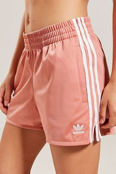 Shop adidas Originals Adicolor 3 Stripes Short at Urban Outfitters today. Sporty Outfits, Athletic Outfits, Cute Casual Outfits, Fashion Outfits, Shorts Adidas, Adidas Outfit, Sport Shorts, Looks Adidas, Pants For Women
