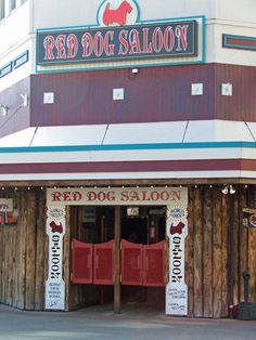 Red Dog Saloon, Juneau, Alaska. Visited Red Dog Saloon and bought a shirt one of the times while my wife and I were in Juneau, Alaska on Alaskan cruise