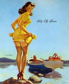 Image gallery for the vintage pinup art of Gil Elvgren (gallery 2 of Pin Up Vintage, Retro Pin Up, Vintage Art, Vintage Girls, Retro Style, Pin Up Pictures, Pin Up Photos, Vintage Pictures, Pinup Art