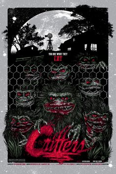 Critters - Hilarious Sci-Fi and a cool poster!