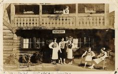 Norwegian Cottage. Great Lakes Exposition, Cleveland, Ohio, 1936