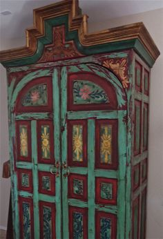 My huge antique mexican armoire