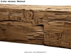 Rough Hewn lumber beams easily add the genuine look of rustic wood and bring textural depth to ceiling designs. Available in of custom size options. Rustic Letters, Faux Wood Beams, Home Fix, Ceiling Beams, Wood Accents, Real Wood, Woodworking Shop, Rustic Wood, Home Improvement