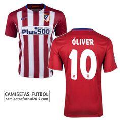 3b03ad61a72ed Primera camiseta de Atletico de Madrid óliver 2015 2016