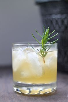 After work special: Pineapple Rosemary Sour