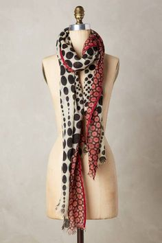 Iberia Dotted Scarf   Pinned by topista.com