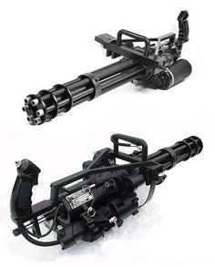 GE M134 Minigun - Gatling gun - around 3,000 rounds per minute