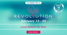 good one!!   Do you believe the best in people? Learn why love always does in today's #LoveRevolution devotion by Gloria: #14DaysofLove