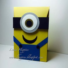 Video Tutorial: Minion Party Bags made with the Gift Bag Punch Board! Great for Kids parties!