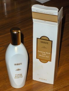 Tribute Foaming Bath and Shower Gel 8 oz Mary Kay