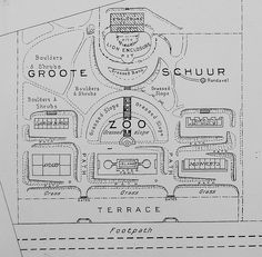 Plan of Zoo at Groote Schuur