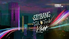 Sembang Teh Tarik Kaw Episod 9 - Layan Drama Night Show, 3d Animation, Motion Design, Promotion, Drama, Neon Signs, Tv, Labs, Television Set