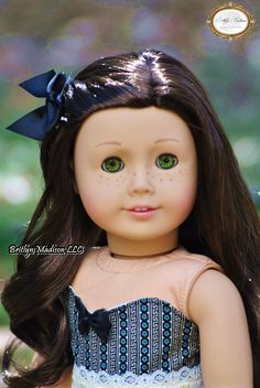 A custom lust like you #55 with Felicity's bright green eyes, custom lip color and gloss.  A true beauty.  We can create any custom doll.  Please visit our website to request a quote