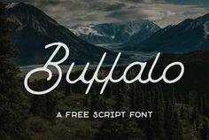 Typographie : Elle est gratuite et elle s'appelle « Buffalo »
