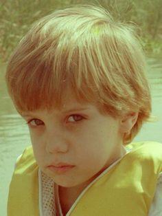 Eugenio Siller cuando era niño