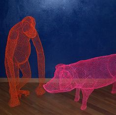 Our most recent artistic pick is Milan-based, London-educated artist and sculptor, Benedetta Mori Ubaldini.There is something strangely intriguing and mesmerizing about her chicken-wire sculptures. Trying to put our finger on it, we came up with more than a few explanations why we love these so much.One appealing aspect is that they look somehow unfinished and …