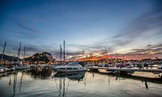 Para los que quiere ver un atardecer espectacular y observar una vista panorámica como esta, os esperamos en la #CostaBlanca Desde #Denia con este bello #atardecercostablanca