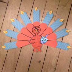 Thanksgivukkah craft FREE! http://www.teacherspayteachers.com/Product/Gobble-Tov-Free-Thanksgiving-Hanukkah-Activities-for-K-2-926079