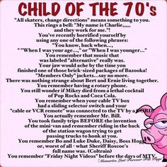 Child of the 70s :)
