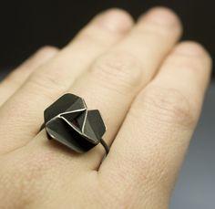 Rings – pinwheel ring – a unique product by bandada on DaWanda