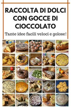 Cooking Recipes, Healthy Recipes, Biscotti, Mini Desserts, Sweet Cakes, Italian Recipes, Delish, Bakery, Brunch