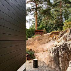 "Olli Pyykönen's Instagram photo: ""Matt Black wooden logs…"" Logs, Matte Black, Brick, Instagram, Bricks, Journals, Magazines"