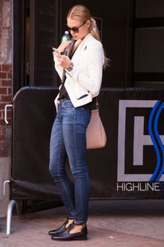 Photos: Best-Dressed Street Style at New York Spring 2014 Fashion Week   Vanity Fair