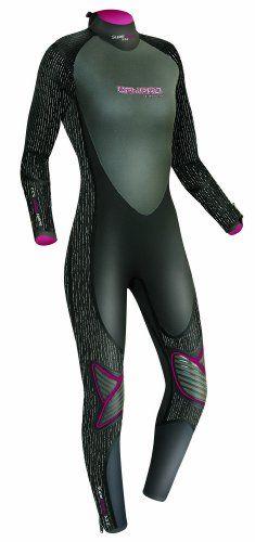 Candid Tilos Hydro Fins, Footwear & Gloves Size 7 Black Scuba Zipper Dive Boots