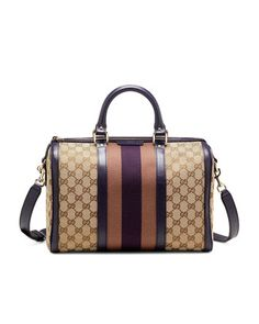 GG Medium Boston Satchel Bag by Gucci at Neiman Marcus.