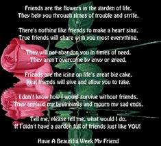 poems about friendship | Friends are the flowers | Best Friendship Poems