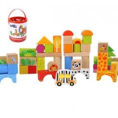 Drevené kocky ZOO Design Shop, Gaspard, Nintendo 64, Construction, Toys, Play, Products, Bebe, Woodworking Toys
