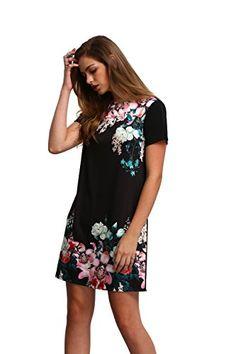 50eachFloerns Women's Floral Print Short Sleeve Casual Top Shir... https://www.amazon.com/dp/B01FUD0Y1Q/ref=cm_sw_r_pi_dp_x_rbcBybF93B2QD