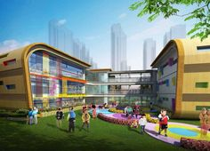 kindergarten building modern