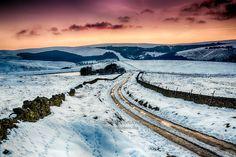Sandy Lane and Reservoir Goyt Valley