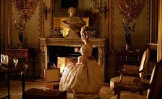 """Marie Antoinette (Diane Kruger) burning her love letters in """"Les Adieux à la Reine"""" (2012).  One of the many scenes in the film that seemed to evoke (for me at least) """"Downfall"""" [Der Untergang] (dir. Hirschbiegel, 2004)."""