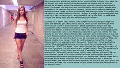 Male to female, body swap, transformation. Tg captions for everyone Sons Girlfriend, Boyfriend, Forced Tg Captions, Girly Captions, Transgender Captions, Tg Transformation, Nephew And Aunt, Age Progression, Captions Feminization