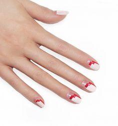 Zig-zag nails