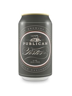 Brewery Brand Design and Packaging. Designer Daniel Guillermo created this brand identity and packaging design concept for Publican Brewery. Cool Packaging, Bottle Packaging, Brand Packaging, Product Packaging, Design Package, Label Design, Graphic Design, Branding Design, Beer Images