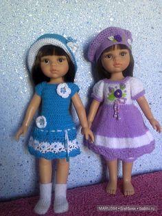 Надоело вязать? Учимся шить! / Paola Reina, Antonio Juan и другие испанские куклы / Бэйбики. Куклы фото. Одежда для кукол