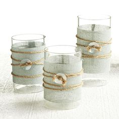 Wisteria - Accessories - Shop by Category - Candles & Candleholders - Coastal Votive Holders - Set of 3 Thumbnail 2