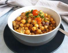 Party Snacks, Chana Masala, Tofu, Food And Drink, Healthy Recipes, Healthy Food, Sugar, Cooking, Ethnic Recipes