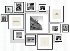 How To: IKEA Ribba Frame Gallery Wall ikea ribba gallery wall layout excel Ikea Gallery Wall, Gallery Wall Layout, Gallery Wall Frames, Photo Wall Layout, Gallery Walls, Frame Wall Collage, Frames On Wall, Framed Wall Art, White Frames
