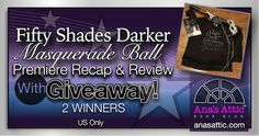Fifty Shades Darker Premiere and Ball Recap and Giveaway
