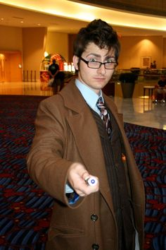 Doctor Who...this will be Mitchell's costume next year, I don't care what he says.