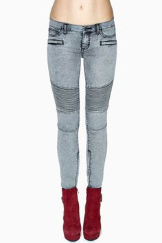 Dittos Courtney Moto Skinny Jeans