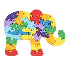 Wooden Animal Elephant Puzzle Jigsaw Number Alphabet Kid Learing Educational Toy Tharapong Shop http://www.amazon.com/dp/B00WPVHS5C/ref=cm_sw_r_pi_dp_DU1Jvb069DH4E