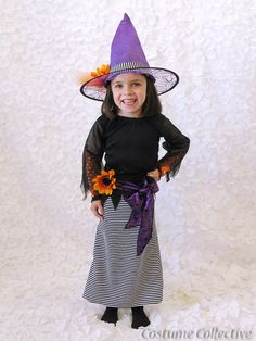 Kids Witch Costume by CostumeCollective on Etsy, $54.00